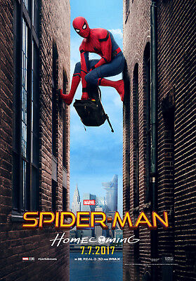 Spider-Man Homecoming 6 Movie Poster Canvas Picture Art Print Premium  A3 - A4