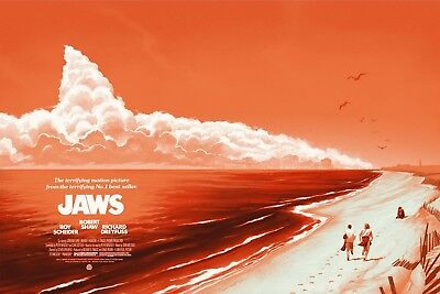 Jaws Steven Spielberg Vintage Movie Poster Canvas Premium Quality A0 A1 A2 A3 A4