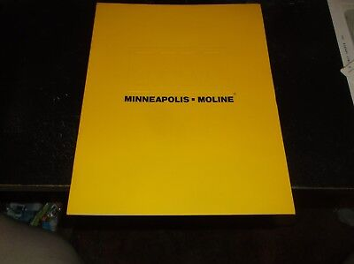 Minneapolis Moline Industrial Engines Brochure  Irrigation Power Plant Generator