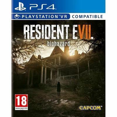 Resident Evil VII 7 Biohasard * VR Compatible - PS4 IMPORT neuf sous blister