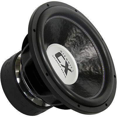 HIFONICS COLOSSUS SUBWOOFER CX15D2 Power 4500/9000 Watt