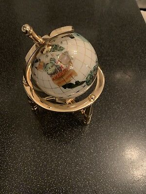 Globe, Small Gemstone