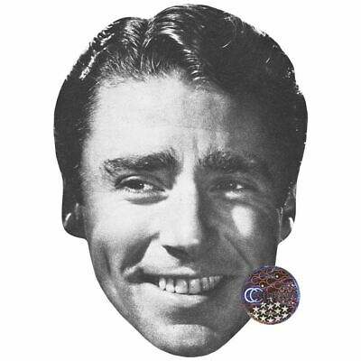Peter Lawford (Black And White) Maske aus Pappe