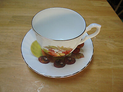 Royal Kendall Fine Bone China Tea Cup And Saucer - Made In England