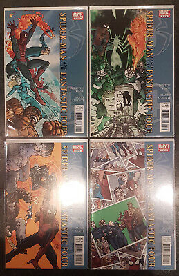 Marvel Comics - Amazing Spider-Man and the Fantastic Four - Limited Series #1- 4