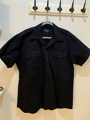 Law Enforcement Short Sleeve Shirt (black), size XL