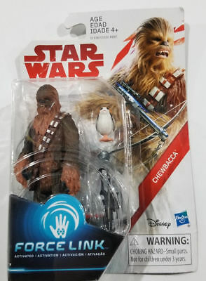 """with PORG ** Force Link Sealed 3.75/"""" Figures! Star Wars **CHEWBACCA"""