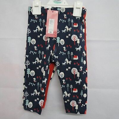 Marks And Spencer M&S Baby Leggings Bottoms Ages 9-12MTH Boys 3 Pairs  New