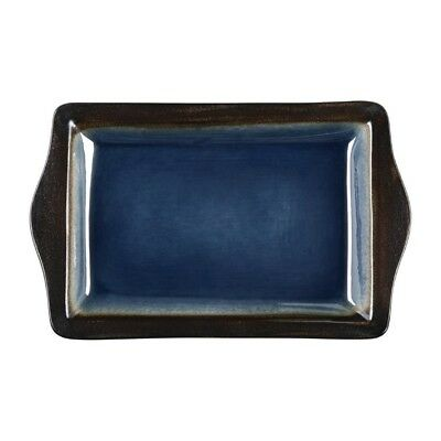 Pack of 6 Olympia Nomi Platter Blue 283mm | Food Buffet Display Tray Board
