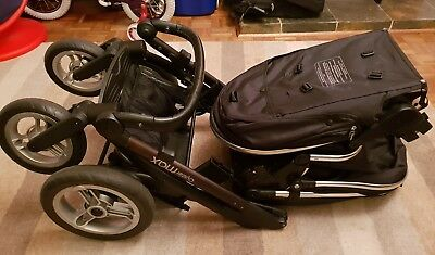 Oyster Max - Double tandem pushchair buggy stroller