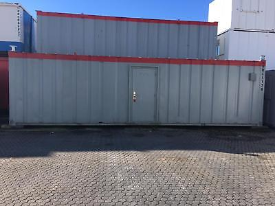 32ft x 10ft Anti Vandal Office Container - North Wales
