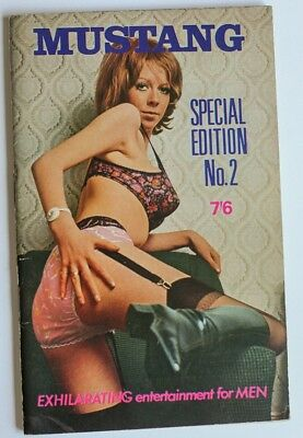 Rare 1960's British Pin-Up Glamour Magazine GSP Special Edition No. 2