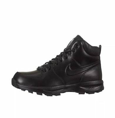 Nike Manoa Leather Boots Black [454350-003] All Sizes