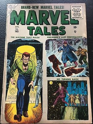Marvel Tales # 145 Atlas Publishing