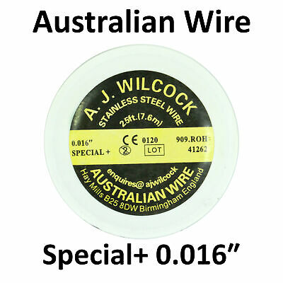 Dental Orthodontic AJ Wilcock Australian Wire Stainless Steel Special+ 0.016″