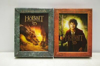 3 D Blu Rays Box Sets The Hobbit An Unexpected Journey & The Desolation Of Smaug