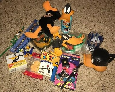Entire Daffy Duck Collection, Watch, Pez, Plush Toy Etc.
