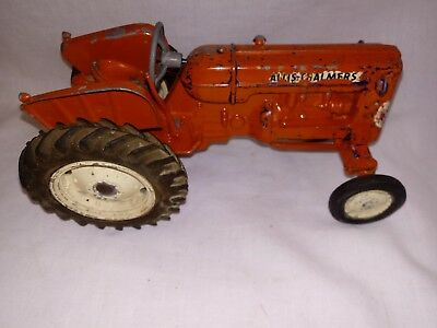 1950 Ertl Allis Chalmers D 17 Toy Tractor ALL ORIGINAL COMPLETE EXCEPT STACK