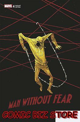 Man Without Fear #4 (Of 5) (2019) 1St Printing Shalvey 1:25 Variant Cover Marvel