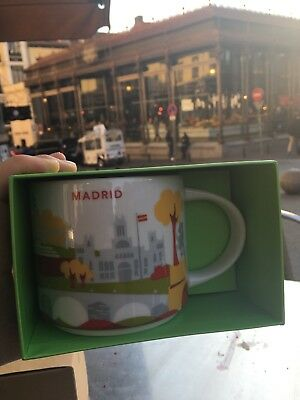 Starbucks You Are Here Collection Madrid Spain  New NEU mit SKU