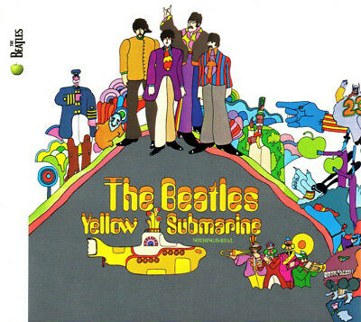 CD  The Beatles ‎– Yellow Submarine - Apple Records ‎– Parlophone ‎– REMASTERED