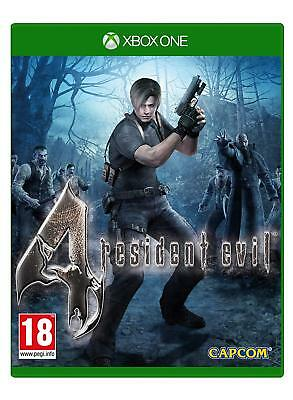 Resident Evil 4 (HD Remastered) Xbox One NEW SEALED DISPATCH TODAY ORDERS BY 2PM