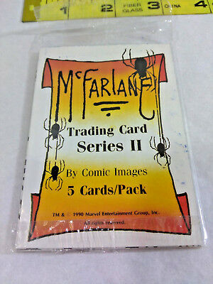 Vtg Marvel TODD McFARLANE Series II Trading Cards 1990 Spider-Man NEW Ships FREE