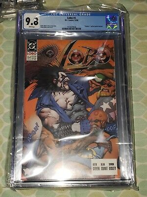 Lobo #2, (DC 1990) Simon Bisley, Keith Giffen, CGC Graded 9.8