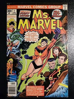 Ms MARVEL # 1  FIRST ISSUE news stand edition in excellent condition also #2,#3