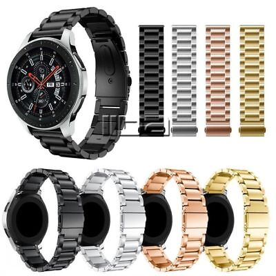 For Samsung Galaxy Watch Stainless Steel Watch Band  46mm Magnetic Wrist Strap