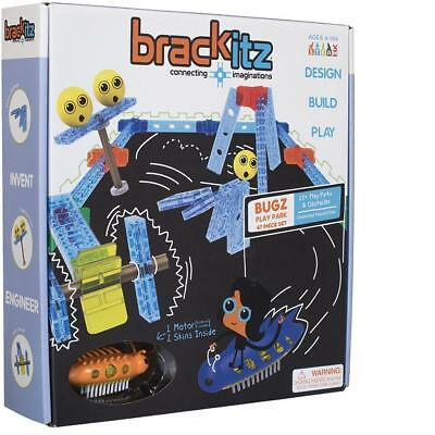 47 Pc Brackitz Bugz Play Park STEM Learning Toy Building Blocks for Kids Ages 4+