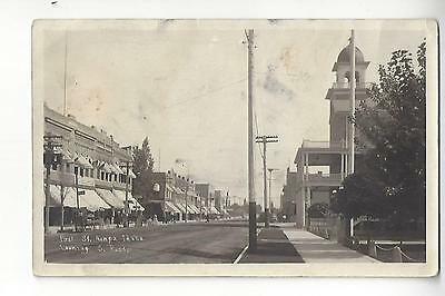 Nampa, Idaho, First St. Looking S. East RPPC