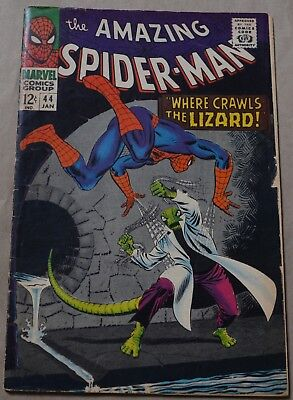 AMAZING SPIDER-MAN #44 (MARVEL, 1967) Second appearance of the Lizard