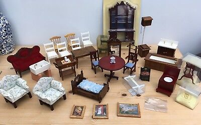 Dolls House Furniture And Accessories Large Bundle / Job Lot