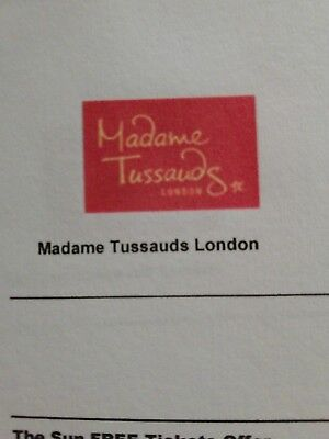 Madame Tussauds London The Sun Free Tickets Offer 19/03/2019 1:15