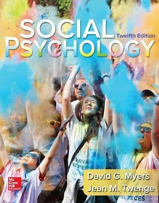 (PDF Download) Social Psychology 12th edition by David Myers