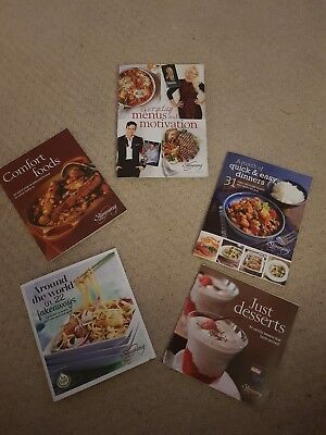 Slimming World Assorted Mini Recipe Books - Great Condition