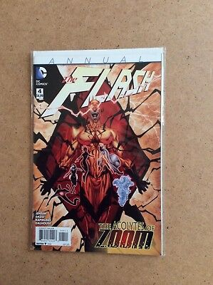 FLASH, VOL 4, ANNUAL	4	DC , 2015	ref B165