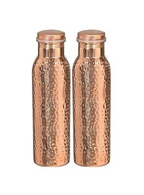 3 Pcs Copper Water Jug storage Bottle for Ayurveda Health Benefit Free Shipping