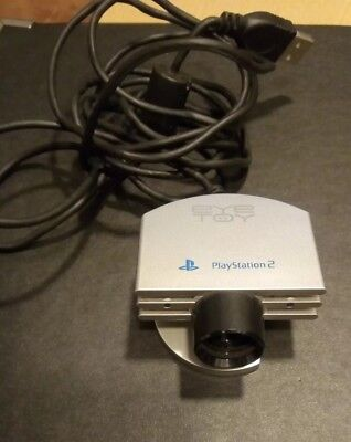 Camara Eye Toy Plata - Playstation 2 Ps2 Sony