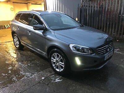 2016 16 Volvo Xc60 Se Lux D4 Auto Light Damaged Salvage Starts And Drives