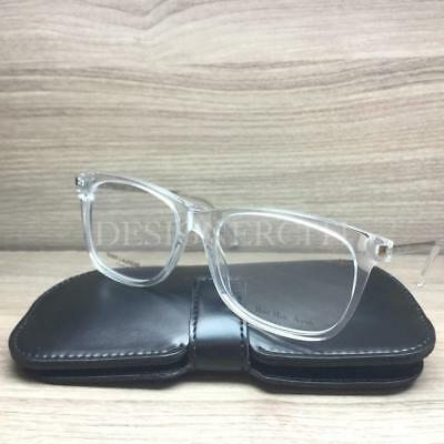 Saint Laurent SL 26 Eyeglasses Crystal Palladium GKZ Authentic 52mm