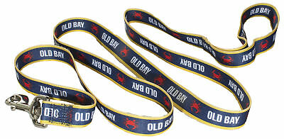 Officially Licensed Old Bay 6 Foot Dog Leash
