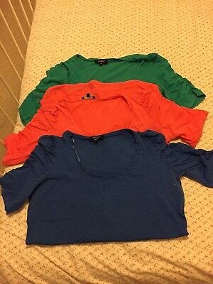 New Look Maternity Tshirts Size 12 x3