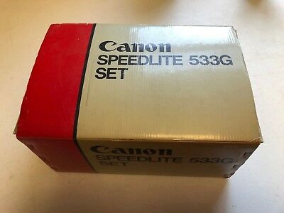 Canon Speedlite 533G Set