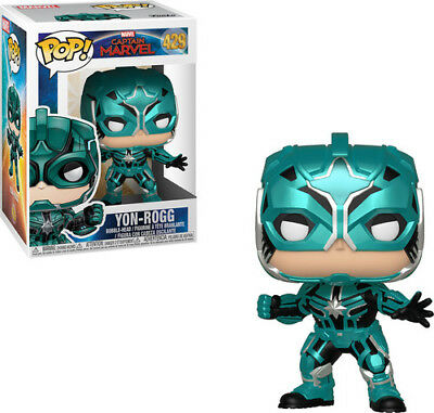 Captain Marvel - Star Command - Funko Pop! Marvel: (2019, Toy NUEVO)
