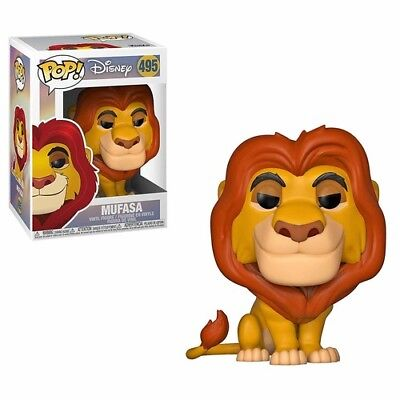 Lion King - Mufasa - Funko Pop! Disney: (2019, Toy NUEVO)