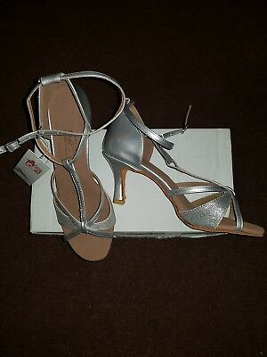 Ladies Sansha Latin Dance Shoes Size 38.5