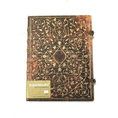 PaperBlanks Grolier Ornamentali Lined Hard Cover Book