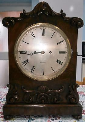Double Fusee Mahogany Bracket Clock by Thompson London Restored in G.W.O.